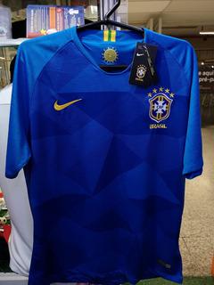 Camisa Brasil Azul Copa 2018 Novas A Pronta Entrega
