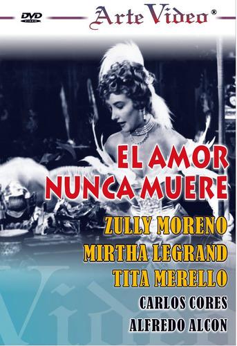 El Amor Nunca Muere - Z. Moreno - M. Legrand - Dvd Original