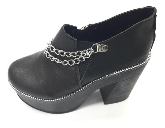 Zapatos Mocasines Plataforma Charritos Botinetas Tejanas 780