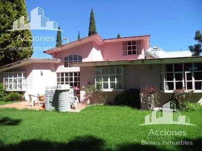 Casa De 1 Piso En Venta. Camino Real A Cholula
