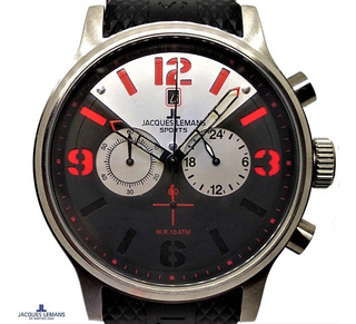 Reloj Jacques Lemans Original Crono Prof. Wr. 100 Mt