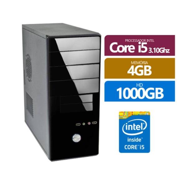 Computador I5 4gb Hd 1tb Novo