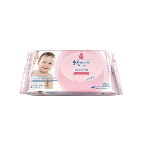 Toallotas Johnson´s E. Cuidado 48 Bebés Y Niños