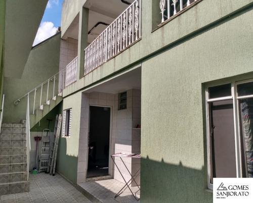 Imagem 1 de 17 de Casa Térrea Para Venda No Parque São Vicente Em Mauá - Sp - Ca00278 - 69437325