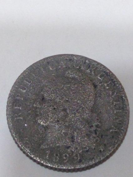 Moneda 20 Centavos 1899, Argentina