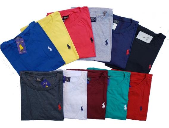 Camisetas Plus Size G1 G2 G3 G4 Kit C/ 5 Marcas Variadas