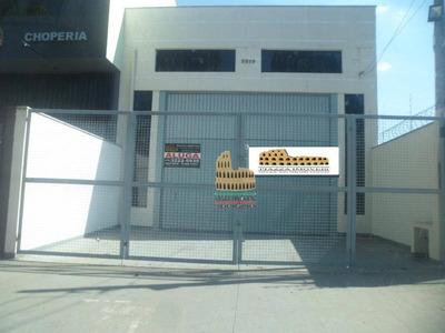 Barracão Para Alugar, 240 M² Por R$ 3.000/mês - Wanel Ville - Sorocaba/sp - Ba0019