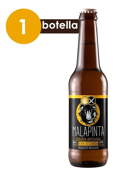 Cervexxa Cerveza Artesanal Malapinta Rubia Descarada