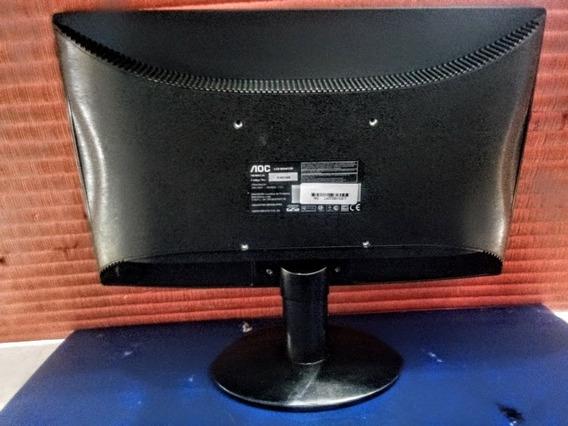 Carcaça Completa + Base Pé - Monitor Aoc E1621swb