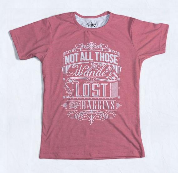 Camiseta Masculina, Wander Lost, Cordel Store