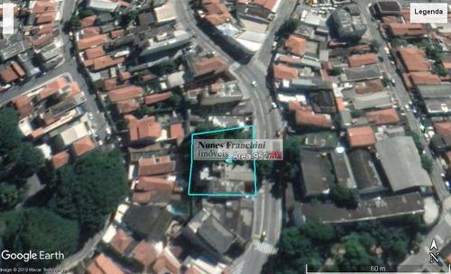 Terreno À Venda, 952 M² Por R$ 2.544.000,00 - Limão (zona Norte) - São Paulo/sp - Te0099