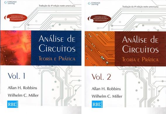 Combo Análise De Circuitos Teoria E Prática - Volume 1 E 2