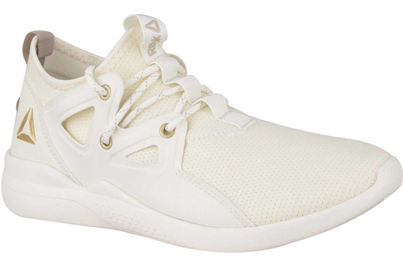 Tenis Reebok Cardio Motion Women Color Crema Nuevos
