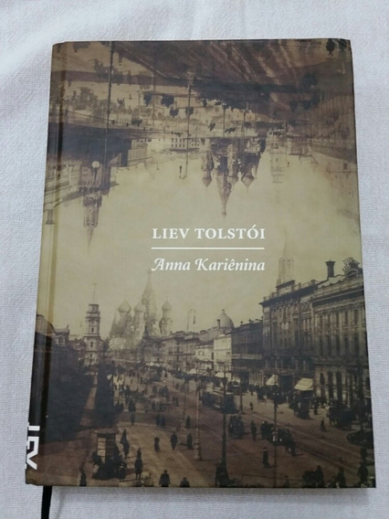 Livro Raro Anna Karienina Liev Tolstoi Cosac