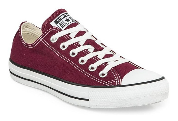 Zapatillas Converse All Star Bordo Blanco Color Temporada
