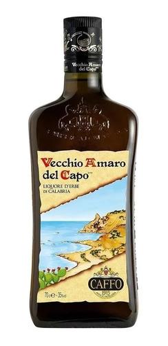 Imagen 1 de 2 de Licor Vecchio Amaro Del Capo - 700cc ( Producto De Italia )