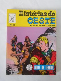 Histórias Do Oeste Nº 10 - Noite De Terror - 1973