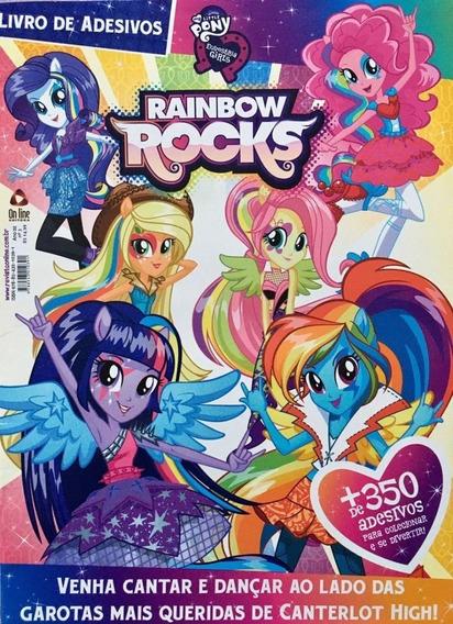 Livro De Adesivos My Little Pony + De 350 Adesivos