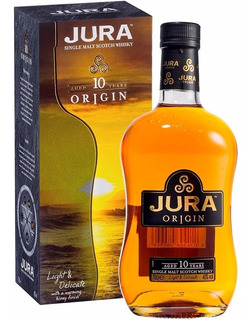 Whisky Jura 10 Años Single Malt Con Estuche Escoces
