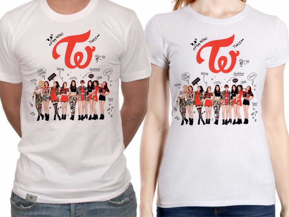 Playera Twice Foto Kpop