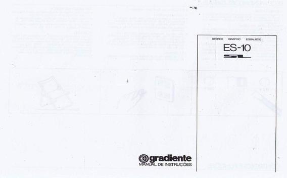 Manual Em Pdf Equalizador Gradiente Es 10
