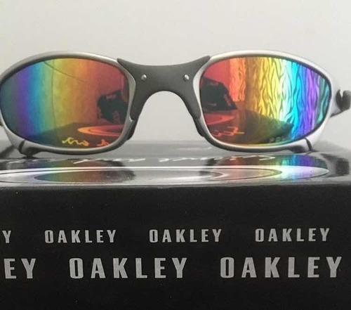 681a85bb8 Lupa Oakley Juliet Tio2 Lentes Arco-íris, Double-x , Penny