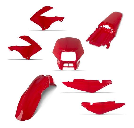 Kit Plástico Nxr 125 Bros 2003 Até 2008 Varias Cores