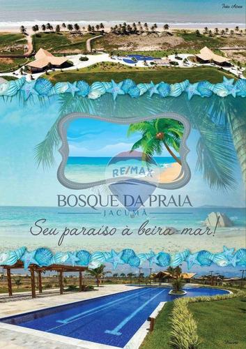 Imagem 1 de 2 de Terreno À Venda, 375 M² Por R$ 398.000 - Beira Mar - Jacumã - Ceará-mirim/rn - Te0199