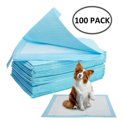 Imagen 1 de 5 de Pañales Piso 33 X 45 Cm (x 100 Un) Envío Gratis / Perros