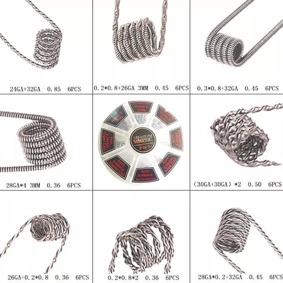 Resistencia Pirate (coil) Para Rba/rda/rta/rdta- Coil 8 Em 1