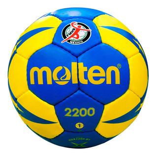 Kit 10 Balones Handball Molten 2200 #1 + 10pz 2200 #2