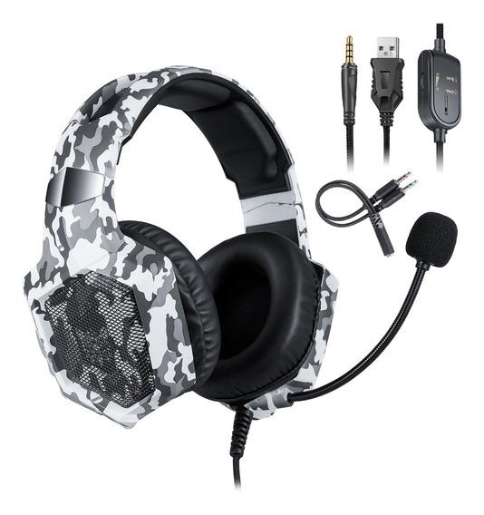 Onikuma K8 3.5mm Gaming Headset Fone De Ouvido Estéreo