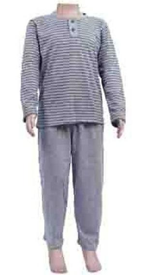 Pijama Infantil Inverno Menino Malha Formosa 2 A 8 Anos