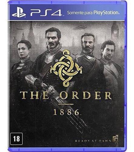 Ps4 The Order: 1886 Novo Lacrado