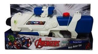 Pistola De Agua Grande Spiderman Water Gun Ditoys 2060 Cuota