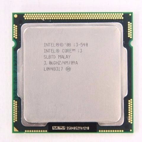 Procesador I3 540 3.06ghz 1156 Semi-novo