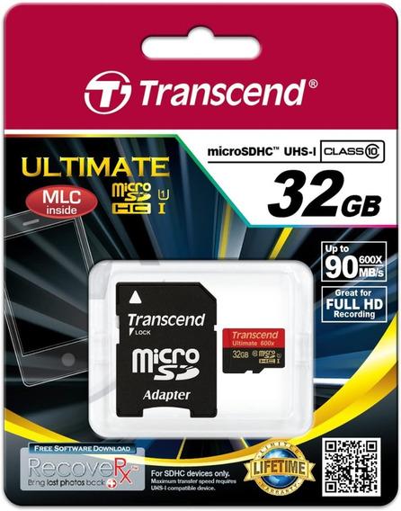 Cartão 32gb Micro Sdhc Classe 10 Uhs-i - Kit 10 Unid