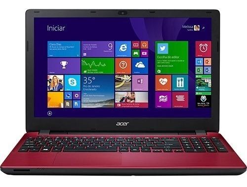 Notebook Acer E5-571-51af Intel Core I5 4gb 1tb Tela Led 15.