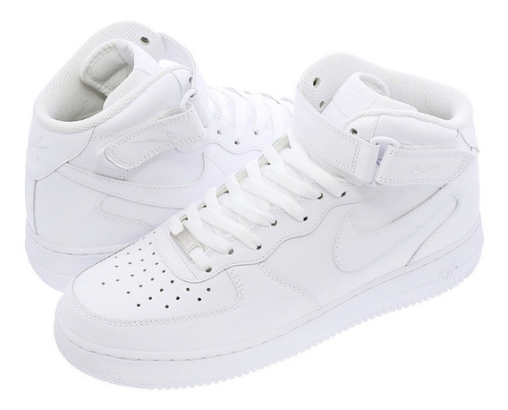 Tenis Nike Air Force 1 Mid 07 White Originales En Caja