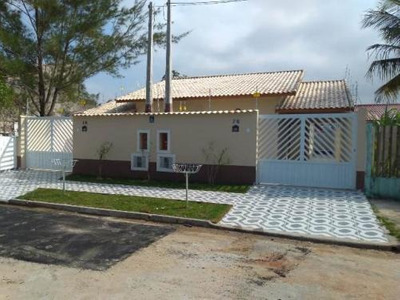 Linda Casa No Bairro Raul Cury, Em Itanhaém, Litoral Sul De