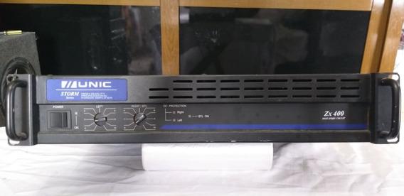 Amplificador De Potencia Unic Zx 400