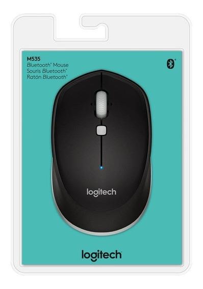 Mouse Logitech M535 Bluetooth Sem Fio Preto