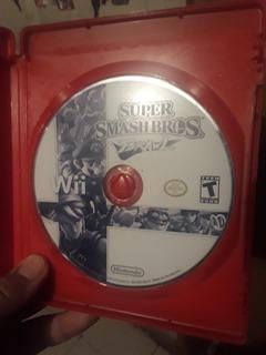 Super Smash Bros Brawl(solo Disco) Impecable.