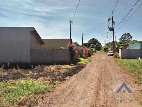 Imagem 1 de 12 de Chácara À Venda, 470 M² Por R$ 150.000,00 - Gaspareto - Alvorada Do Sul/pr - Ch0203
