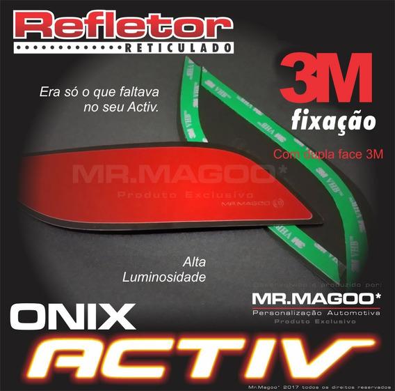 Refletor Onix Activ Dupla Face 3m Original Mr.magoo*
