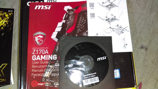 Drivers Y Manual De Placa Msi Z170 Gaming Original