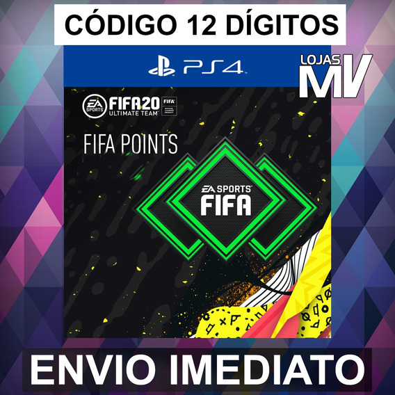 1500 Fifa Points Ps4 Ps3 Fifa 20 Codigo 12 Digitos