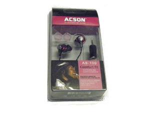 Auricular In-ear Acson As-100 Para Telefonos (2.5 O 3.5) Mza