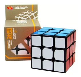 1 Cubo Mágico Profissional Yj Moyu Guanlong 3x3x3 Não Trava