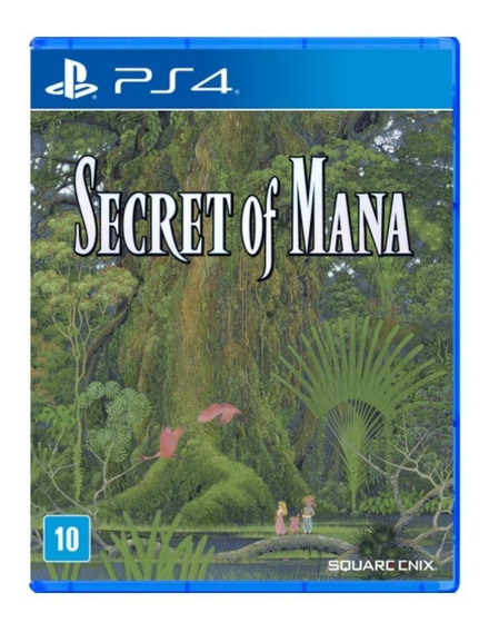 Jogo Secret Of Mana Ps4 Mídia Física | Vitrine